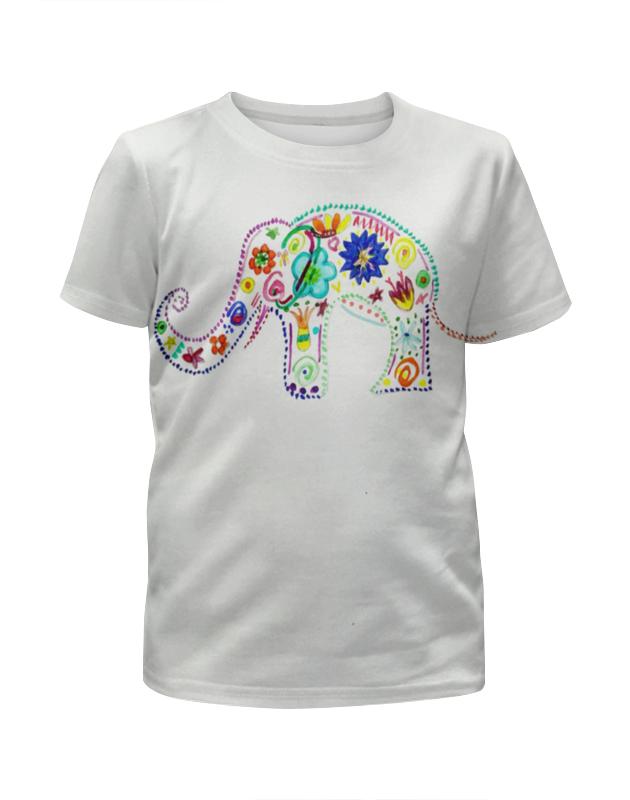 Фото - Printio Футболка с полной запечаткой для девочек Слоник printio футболка с полной запечаткой для девочек слоник