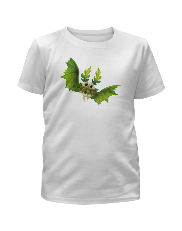 printio футболка с полной запечаткой для девочек сказочная летучая мышь Printio Футболка с полной запечаткой для девочек Сказочная летучая мышь