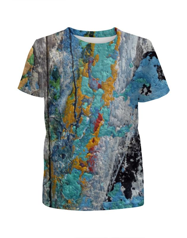 Printio Футболка с полной запечаткой для девочек Взрыв красок printio футболка с полной запечаткой для девочек оттенки красок