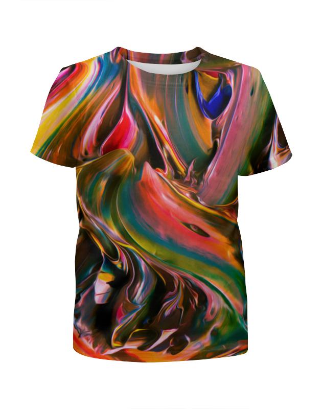 Printio Футболка с полной запечаткой для девочек Смесь красок printio футболка с полной запечаткой для девочек оттенки красок