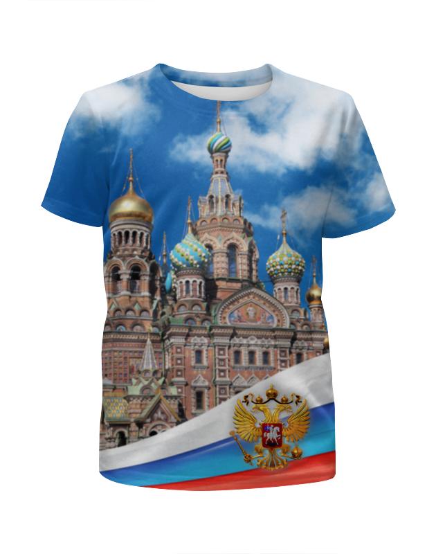 Printio Футболка с полной запечаткой для девочек Санкт-петербург