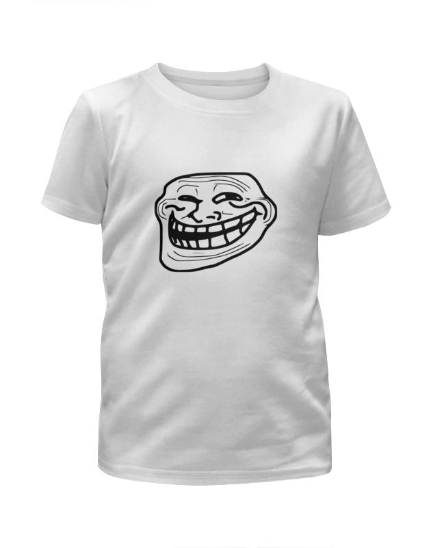Printio Футболка с полной запечаткой для девочек Mem смех printio футболка wearcraft premium mem смех