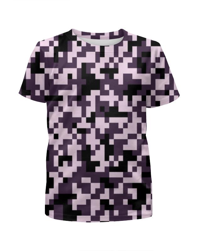 printio pixel pink Printio Футболка с полной запечаткой для девочек Pink pixel