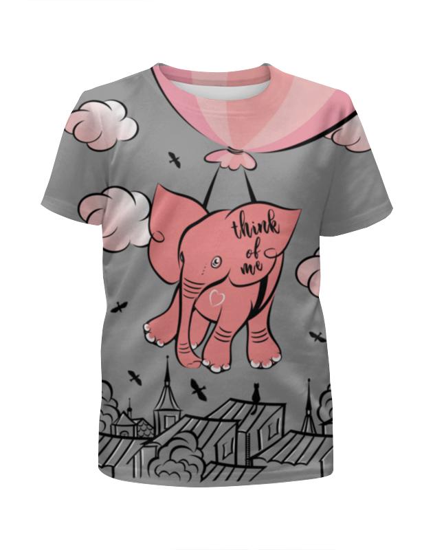 Фото - Printio Футболка с полной запечаткой для девочек Розовый слоник printio футболка с полной запечаткой для девочек слоник