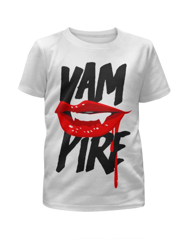 Printio Футболка с полной запечаткой для девочек Вампир ( yampire )