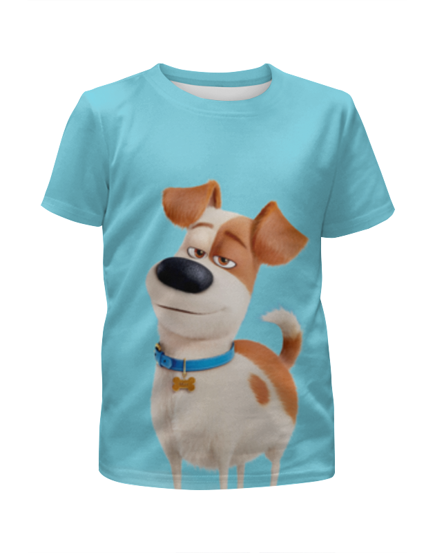 Printio Футболка с полной запечаткой для девочек Макс (max) printio футболка с полной запечаткой мужская макс max