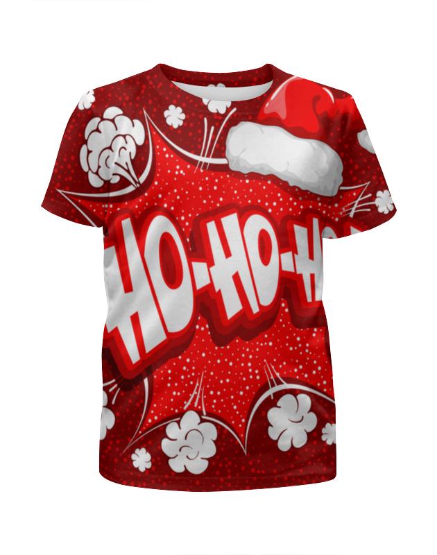 printio футболка с полной запечаткой для девочек ho ho ho Printio Футболка с полной запечаткой для девочек Ho ho ho