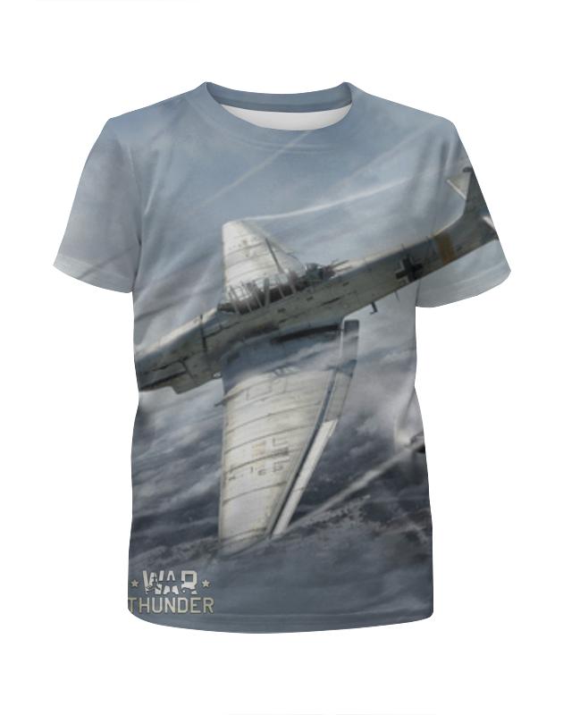 футболка с полной запечаткой для девочек printio star wars звездные войны Printio Футболка с полной запечаткой для девочек War thunder