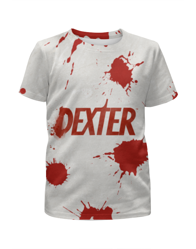 Printio Футболка с полной запечаткой для девочек Декстер (dexter) printio футболка с полной запечаткой мужская декстер dexter