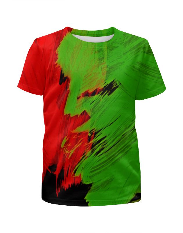 Printio Футболка с полной запечаткой для девочек Битва красок printio футболка с полной запечаткой для девочек оттенки красок
