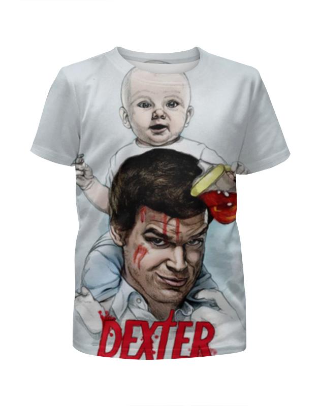 Printio Футболка с полной запечаткой для девочек Dexter (декстер) printio футболка с полной запечаткой мужская декстер dexter