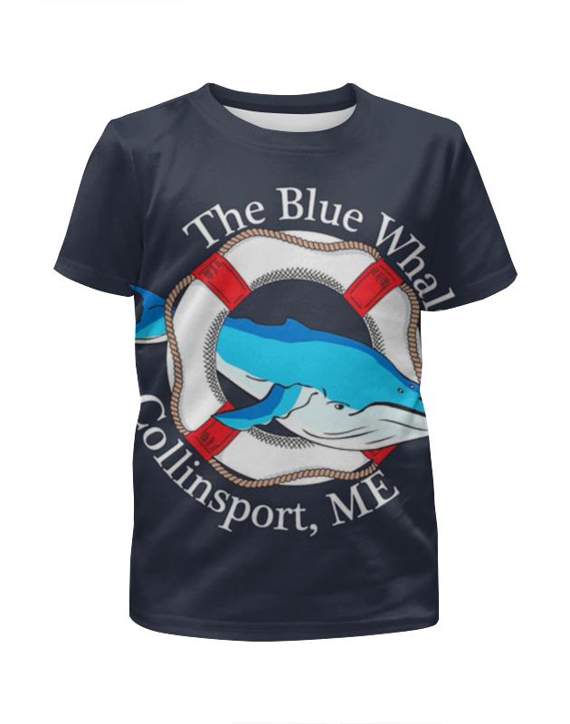 Printio Футболка с полной запечаткой для девочек The blue whale printio футболка с полной запечаткой мужская the blue whale
