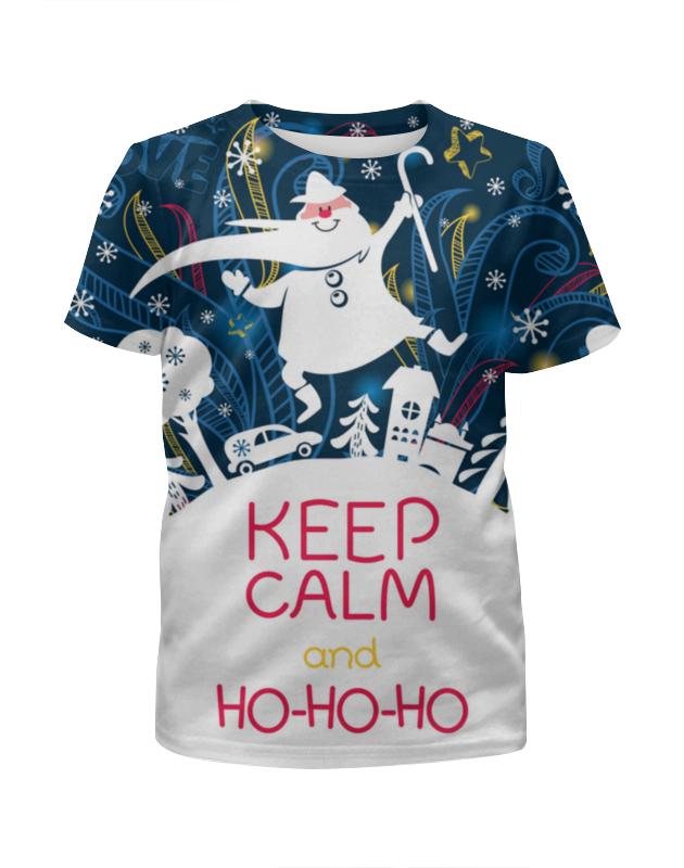 printio футболка с полной запечаткой для девочек ho ho ho Printio Футболка с полной запечаткой для девочек Ho-ho-ho