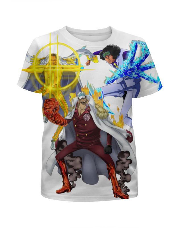 Printio Футболка с полной запечаткой для девочек Три адмирала золотого века пиратов