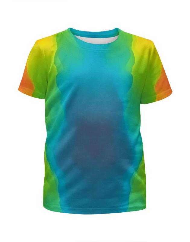 Printio Футболка с полной запечаткой для девочек Разводы красок printio футболка с полной запечаткой для девочек оттенки красок
