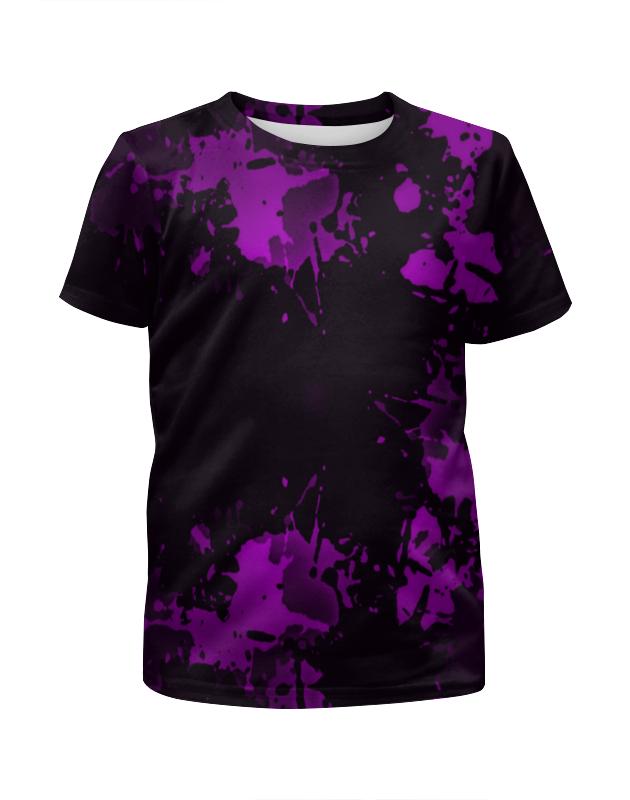 Printio Футболка с полной запечаткой для девочек Брызги красок printio футболка с полной запечаткой для девочек оттенки красок