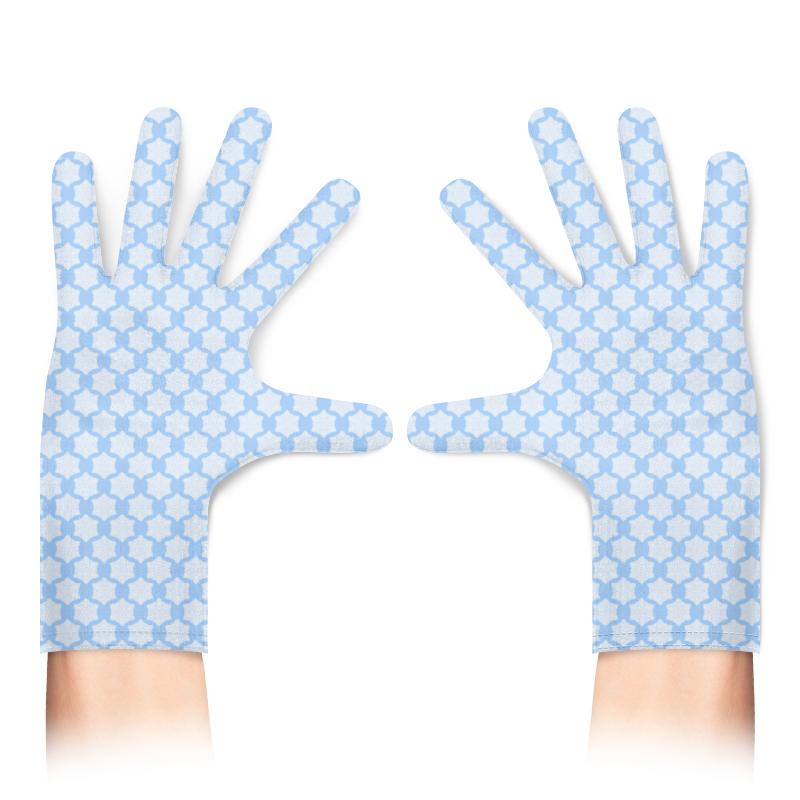 Printio Перчатки с полной запечаткой Снежинки защищают от вируса и штрафов :-)
