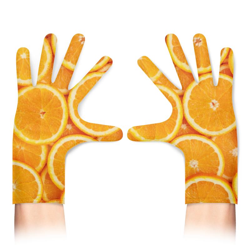 Printio Перчатки с полной запечаткой Апельсины фото