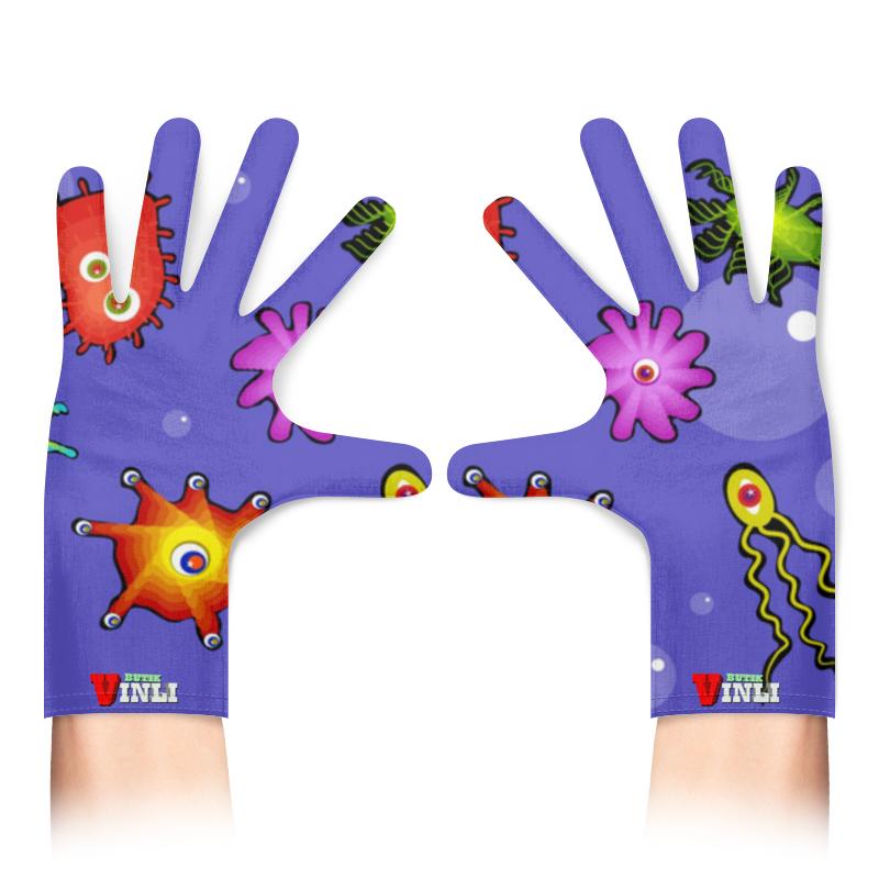 Printio Перчатки с полной запечаткой Антивирус