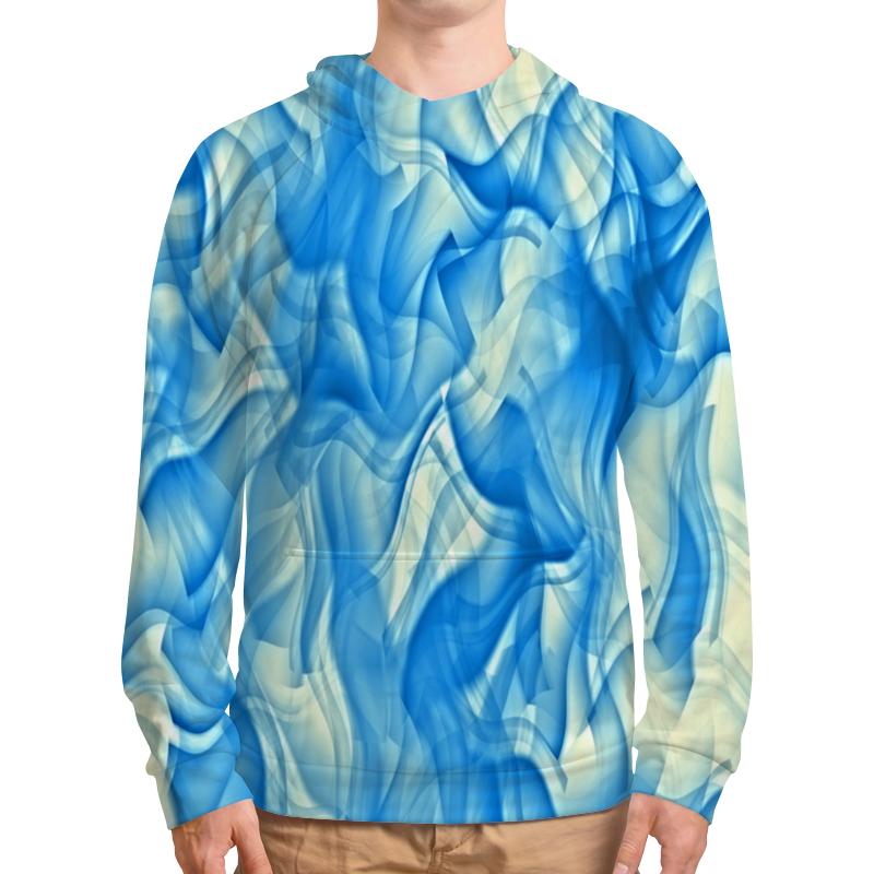 Printio Толстовка с полной запечаткой Бело-голубой узор printio толстовка с полной запечаткой бело голубой узор