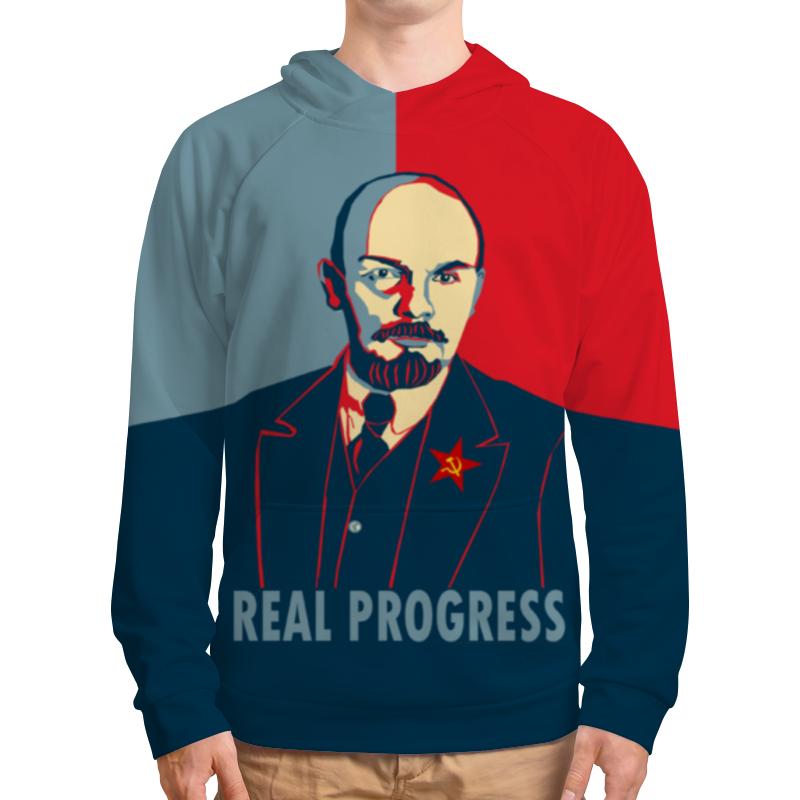 Printio Толстовка с полной запечаткой Ленин