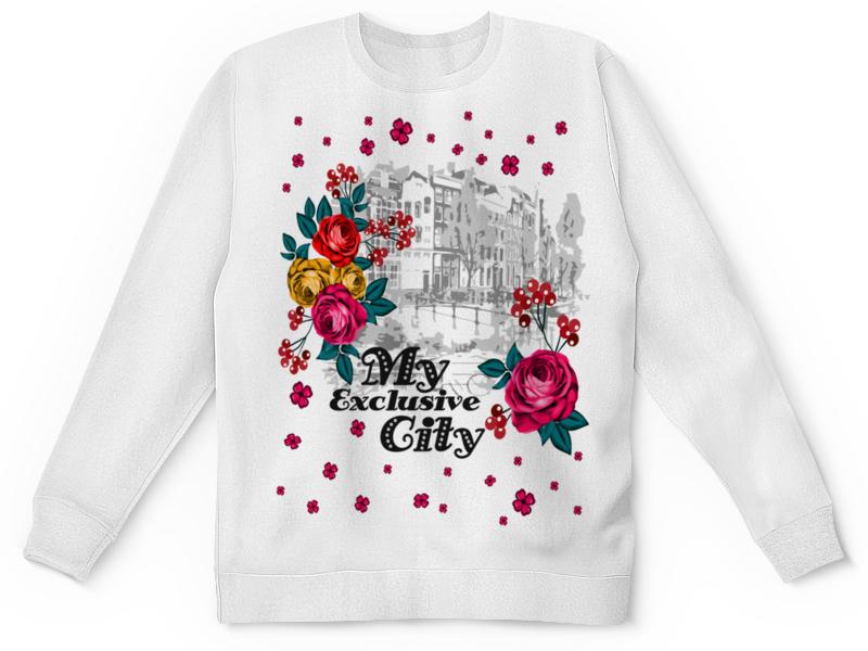 Printio Детский свитшот с полной запечаткой Город