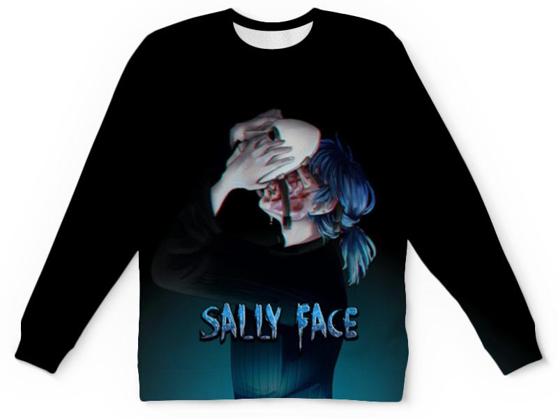 Printio Детский свитшот с полной запечаткой Sally face (салли фейс)