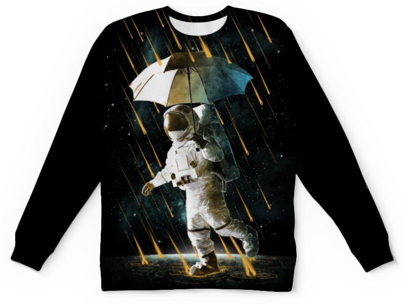 Printio Детский свитшот с полной запечаткой Метеоритный дождь