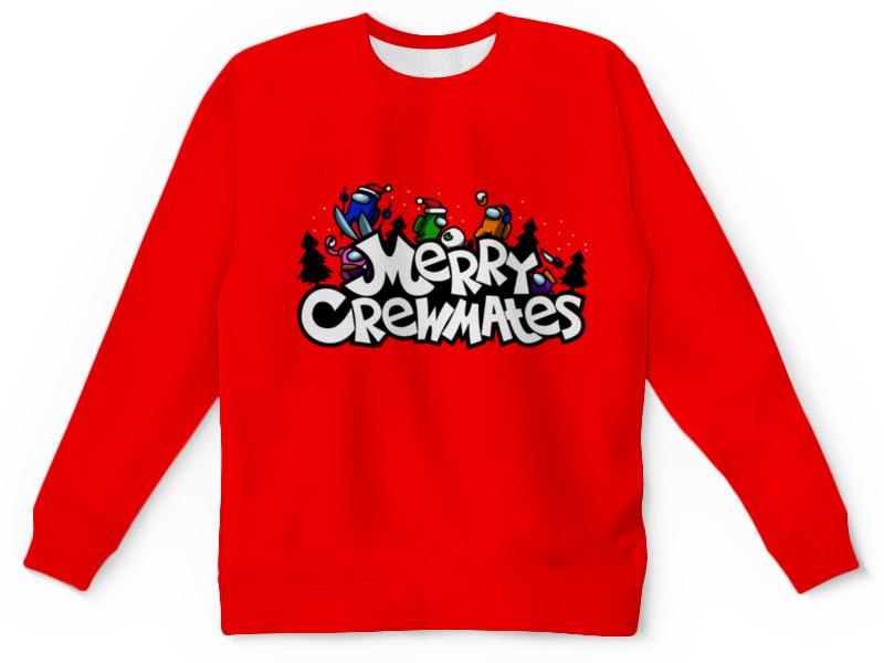Printio Детский свитшот с полной запечаткой Merry crewmates