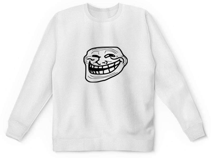 printio свитшот унисекс хлопковый mem смех Printio Детский свитшот с полной запечаткой Mem смех