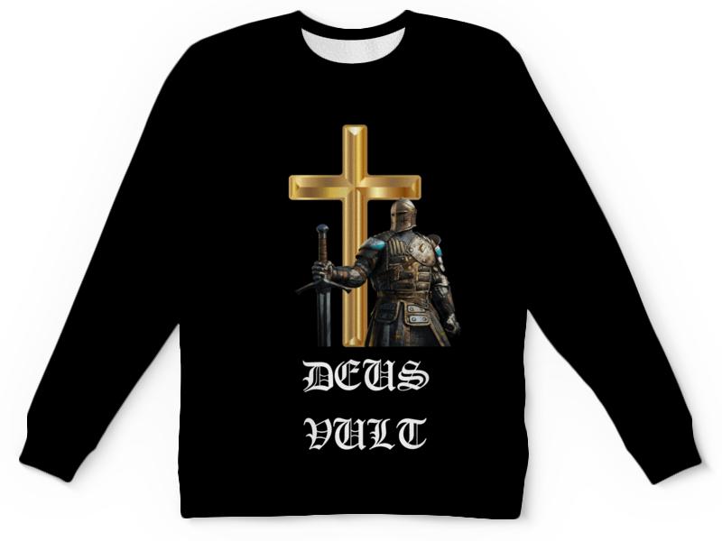 Printio Детский свитшот с полной запечаткой Deus vult. крестоносцы printio свитшот мужской с полной запечаткой deus vult крестоносцы