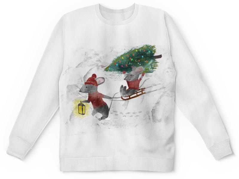Printio Детский свитшот с полной запечаткой Новогодний свитшот детск printio детский свитшот с полной запечаткой 8111as a