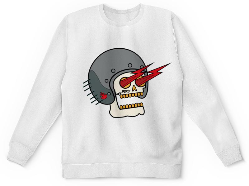 Printio Детский свитшот с полной запечаткой Skull fast printio детский свитшот с полной запечаткой 8111as a