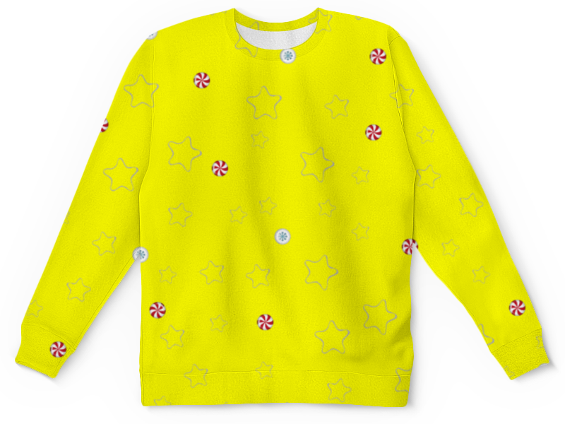 Printio Детский свитшот с полной запечаткой Звезды детский свитшот унисекс printio елки и звезды