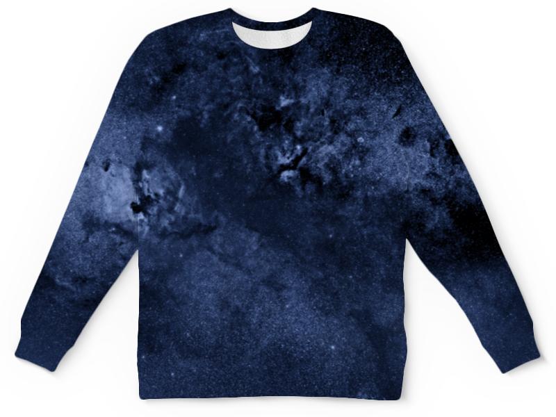 Printio Детский свитшот с полной запечаткой Звезды в небе детский свитшот унисекс printio елки и звезды
