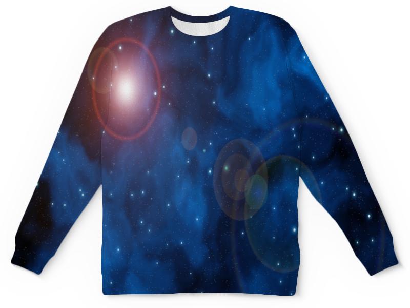 Фото - Printio Детский свитшот с полной запечаткой Вспышки в космосе printio детский свитшот с полной запечаткой в космосе