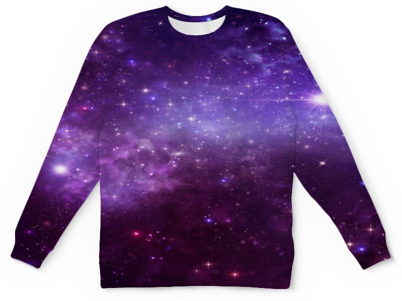 Printio Детский свитшот с полной запечаткой Звезды космоса детский свитшот унисекс printio елки и звезды