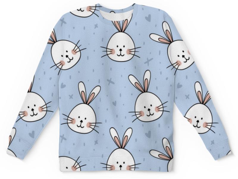 Printio Детский свитшот с полной запечаткой Милый кролик printio детский свитшот с полной запечаткой 8111as a
