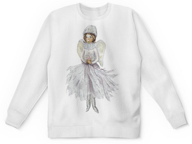Printio Детский свитшот с полной запечаткой Снежный ангел
