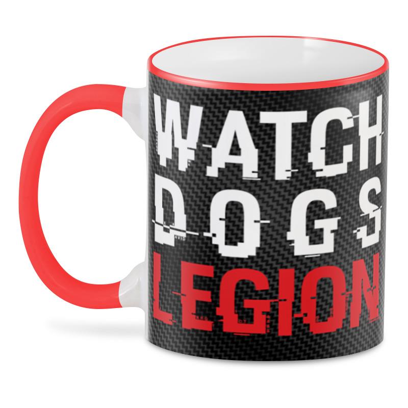 Printio 3D кружка ✪watch dogs legion✪ printio рюкзак 3d watch dogs