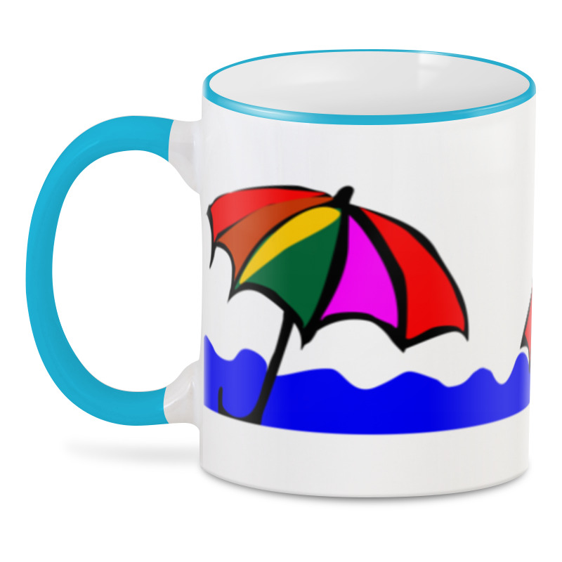 Printio 3D кружка Зонтики.