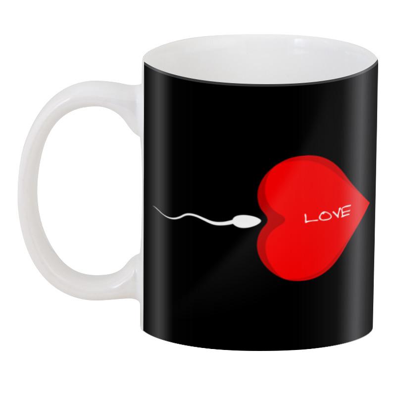 Фото - Printio 3D кружка Love (сердечко) scb271028 металлическая подвеска сердечко белая ножка 9 см сердечко 5 3 см scrapberry s
