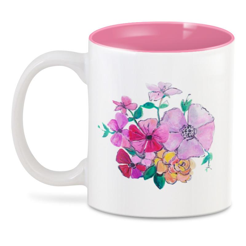 Printio 3D кружка Летние цветы