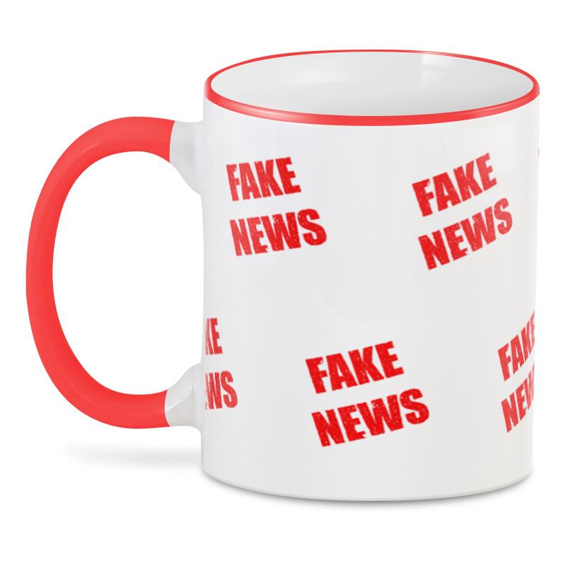 Printio 3D кружка Фейковые новости