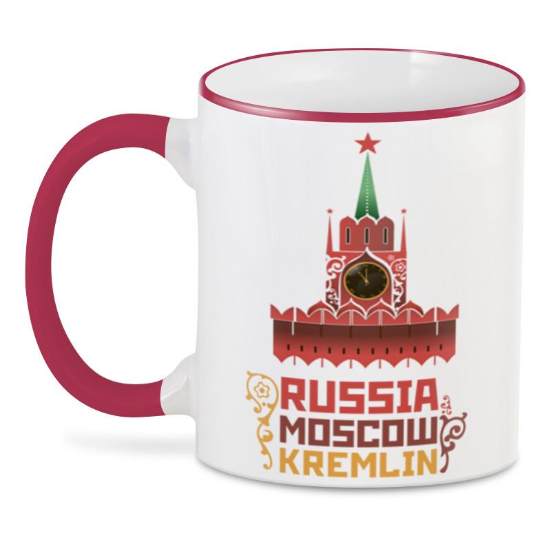 Printio 3D кружка Москва, кремль,(россия) printio кружка московский кремль