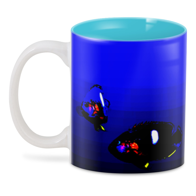 Printio 3D кружка Синяя аква