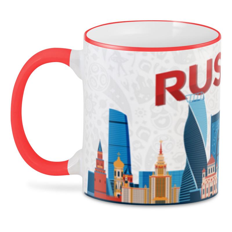 Printio 3D кружка Moscow russia printio кружка московский кремль