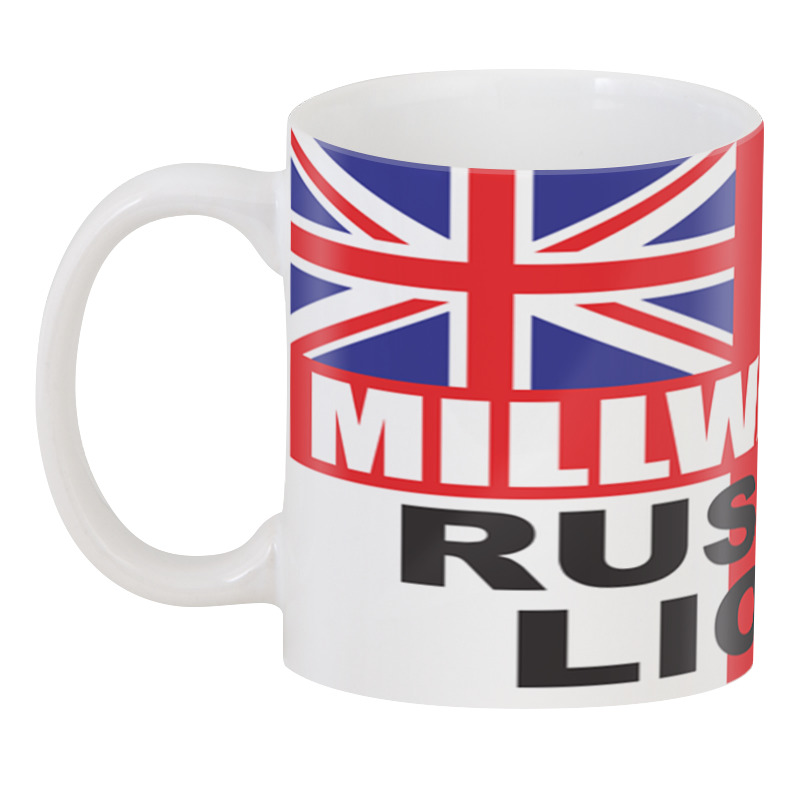 Printio 3D кружка Millwall russian lions cup
