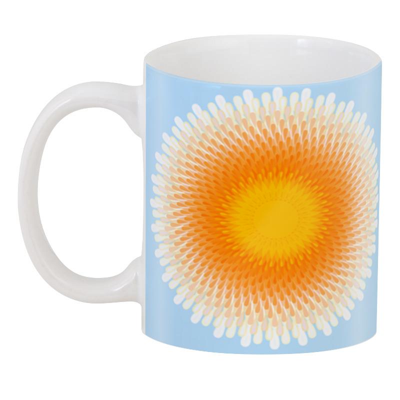 Printio 3D кружка Солнечный орнамент