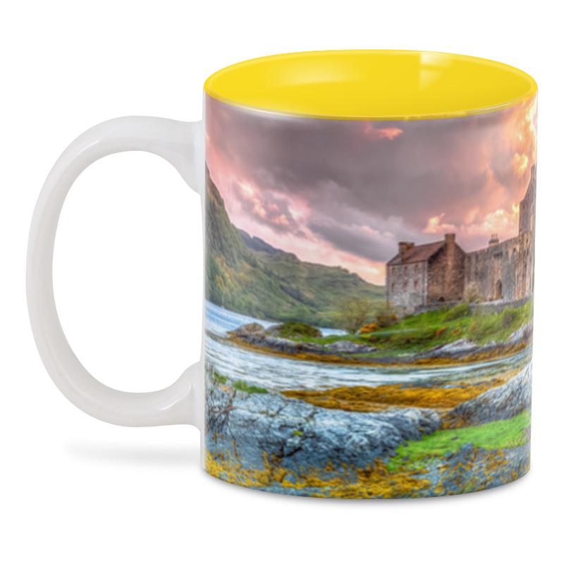 Фото - Printio 3D кружка Замок в шотландии набор полесье замок башня замок стена с двумя башнями замок мост 37251
